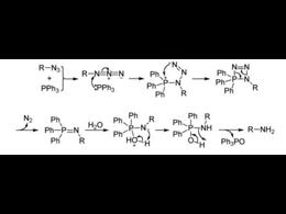 一种全新的催化斯陶丁格叠氮还原成胺的反应