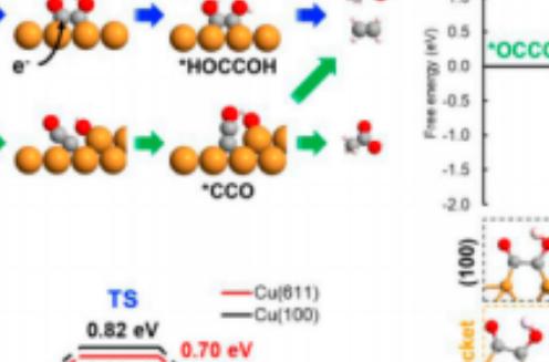 电化学固态电解池还原一氧化碳制备高纯度乙酸