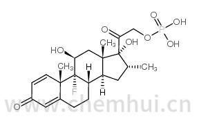 地塞米松磷酸酯结构式